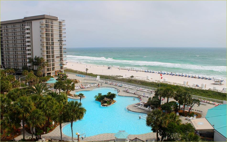 Panama City Beach condo gulffront Deluxe with