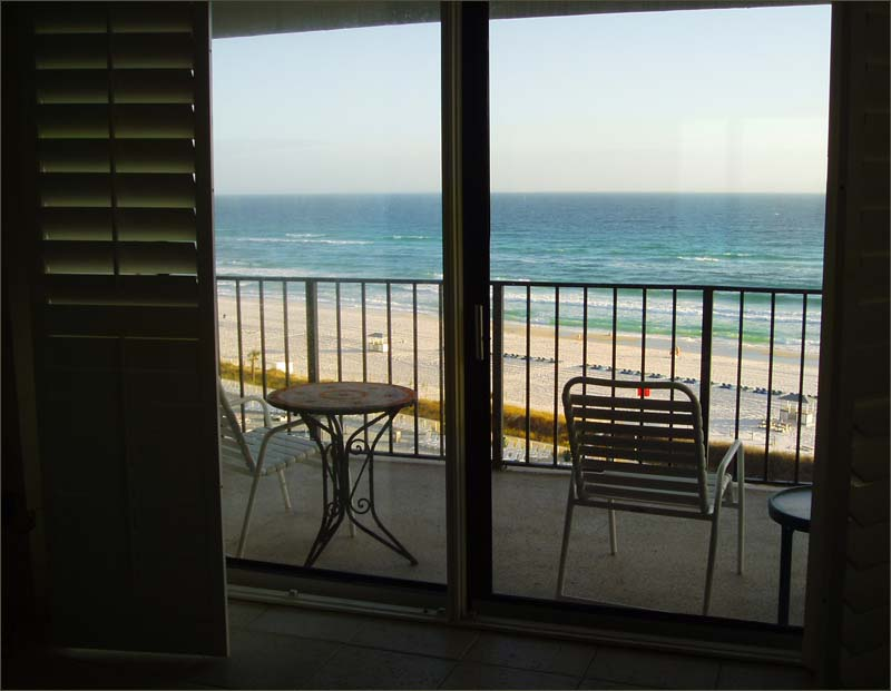 ... large wrap balcony, overlooking the soft sand beaches of Panama City